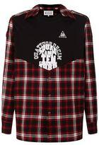 Maison Margiela Contrast Check Shirt