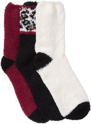 Jessica Simpson Cozy Crew Socks - Pack of 3