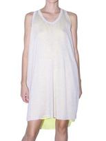Clu - Two Tone Silk And Knit Dress