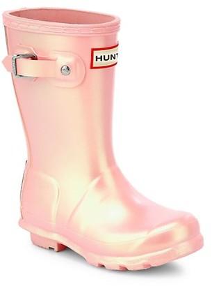 Hunter Kid's Original Nebula Rain Boots