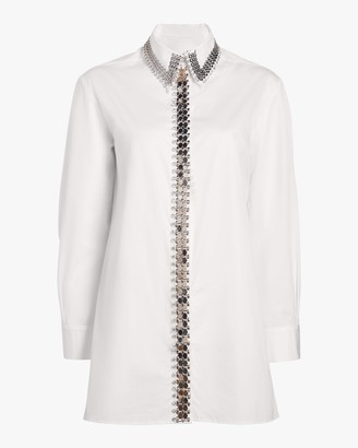 Christopher Kane Chain-Accent Shirt
