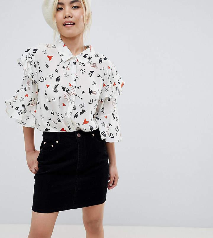 99703738e5ee Black Cord Skirt - ShopStyle UK