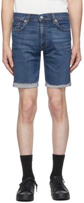 Levi's Levis Blue 511 Slim Cut-Off Shorts