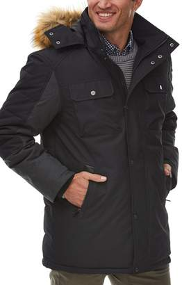 Rainforest Faux Fur Trimmed Hood Insulated Oxford Parka