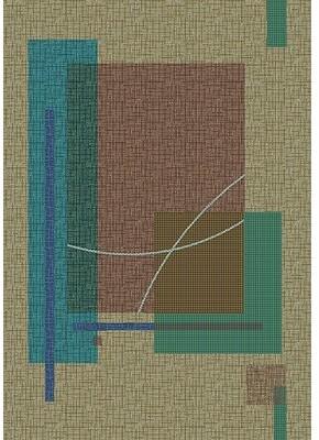 "Astoria Grand Shryock Fairmont Seagrass Rug Astoria Grand Rug Size: Rectangle 7'8"" x 10'9"""