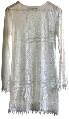 For Love & Lemons Ecru Viscose Dresses