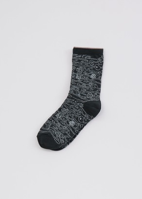 Minä Perhonen Sieste Socks Dark Green