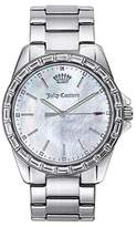 Juicy Couture Women's 1901295 Analog Display Quartz Silver Watch