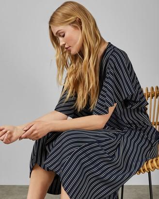 Ted Baker Striped Midi Dress