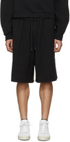 Off-White Black Quotes Shorts