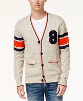 Tommy Hilfiger Men's Varsity Applique Cardigan