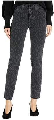 Joe's Jeans Milla in Black Laser Cheetah (Black Laser Cheetah) Women's Jeans