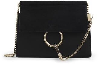 Chloé Mini Leather Faye Chain Bag
