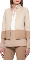 Akris Reversible Colorblock Jacket