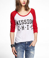 Express Graphic Baseball Tee - Mission Chic