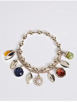 M&S Collection Acorn Charm Bracelet