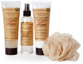 tuscan hills Vanilla Almond Scented Body Care Set