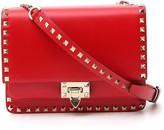 Valentino Garavani Rockstud Flip Lock Detail Shoulder Bag