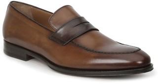 Bruno Magli Fanetta Leather Penny Loafers