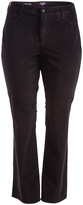 NYDJ Black Marilyn Straight-Leg Pants - Plus