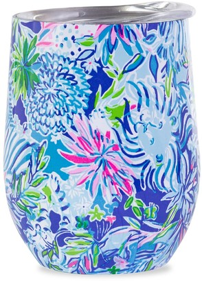 Lilly Pulitzer Floral-Print Stainless Steel Wine Tumbler