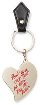 Vivienne Westwood Gold-Tone Enamel And Leather Keychain