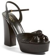 Gucci 'Allie' Platform Peep Toe Sandal (Women)