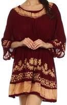 Sakkas 092 Ketana Batik Tunic Cover Up