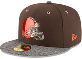 New Era Cleveland Browns 2016 NFL Draft On Stage 59FIFTY Cap