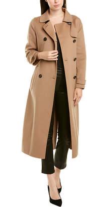 Max Mara Wool & Angora-Blend Coat
