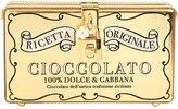 Dolce & Gabbana Cioccolato Box Metallic Leather Clutch