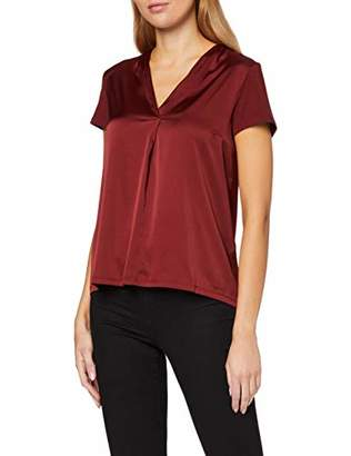 More & More Women's Blusenshirt Von T-Shirt, (Wine Red 0548), (Size: 42)