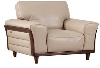 Latitude Run Towles Armchair Upholstery Color: Beige