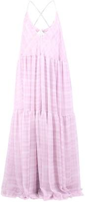 Jacquemus La Robe Mistral V-Neck Maxi Dress