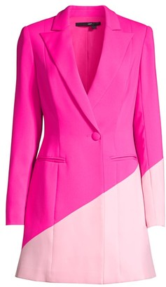 Jay Godfrey Ace Bright Blazer Dress