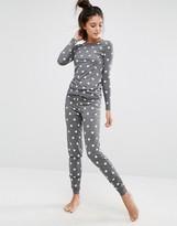 Vero Moda Star Print Long Sleeve Top