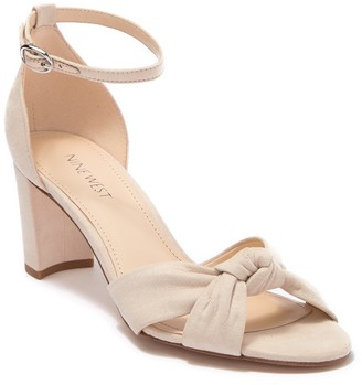 Nine West Paloma Knotted Heeled Sandal