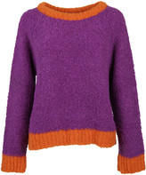 Moschino Contrast Detail Sweater