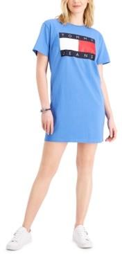 Tommy Jeans Logo Tee Knit Dress
