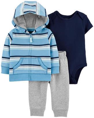 Carter's Boys Striped Pant Set Baby
