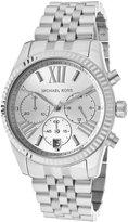 Michael Kors Women's Chronograph Silver Dial Stainless Steel M.KORS-MK5555 Watch