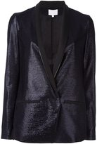 Lala Berlin one button blazer - women - Polyester/Acetate/Viscose - M