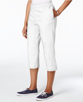 Alfred Dunner Lady Liberty Pull-On Capri Pants