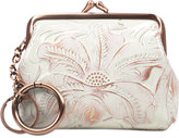 Patricia Nash Large Tooled Borse Coin Purse