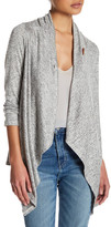 Bobeau Hatchi One Button Cardigan (Petite)
