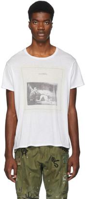R 13 White Joy Division Closer T-Shirt