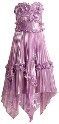 Zandra Rhodes Archive Ii The 1977 Sunray Gown - Womens - Pink