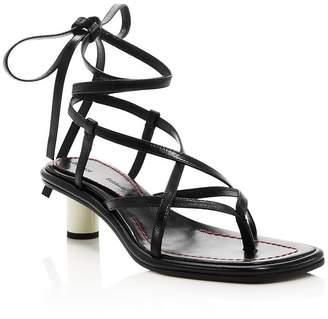 Proenza Schouler Women's Strappy Mid-Heel Sandals