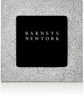 "Barneys New York Shagreen-Effect Studio 4"" x 4"" Picture Frame-WHITE"
