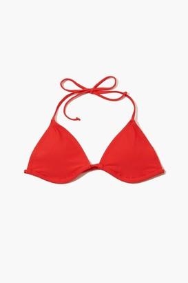 Forever 21 Triangle String Bikini Top